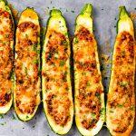 Keto Zucchini Boats Recipe with Ground Beef