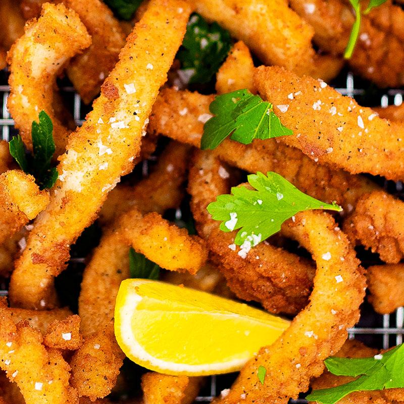 Keto Salt and Pepper Squid Recipe Deep Fried Calamari