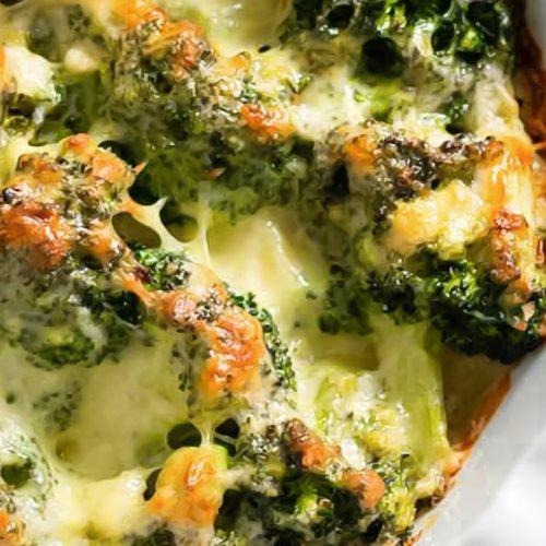 Keto Broccoli and Cheese Casserole