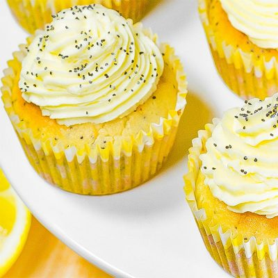 Keto Lemon Poppy Seed Muffins Recipe