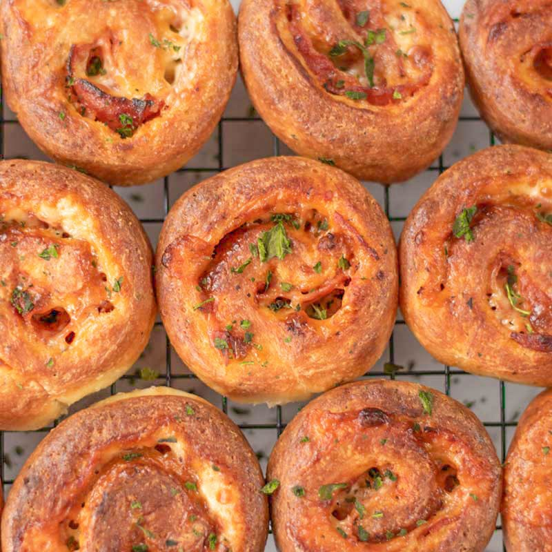 Best Keto Pizza Rolls Recipe