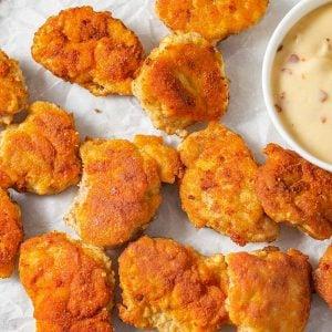 Crispy Keto Chicken Nuggets