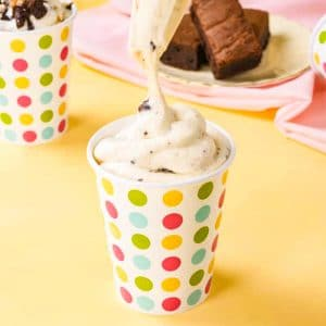 Keto McDonalds McFlurry Recipe