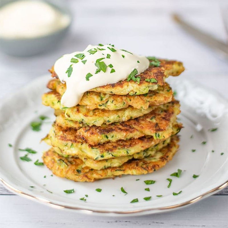 Keto Fritters with Zucchini