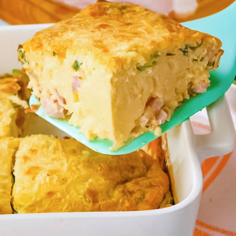Keto Egg and Cream Cheese Bake
