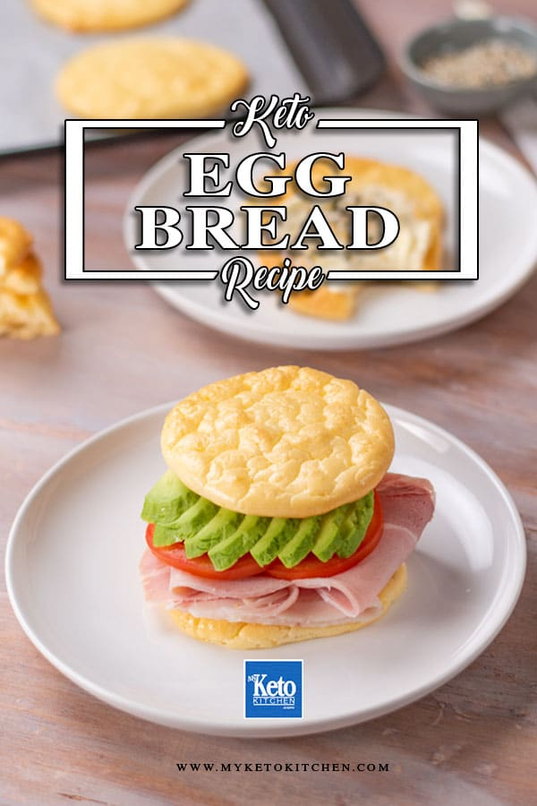 Low carb cloud bread, oopsie bread, egg bread this keto recipe is known by many different names
