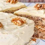 Keto Walnut Cake