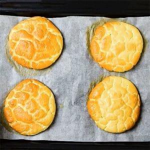 Low Carb Cloud Bread / Oopsie Bread
