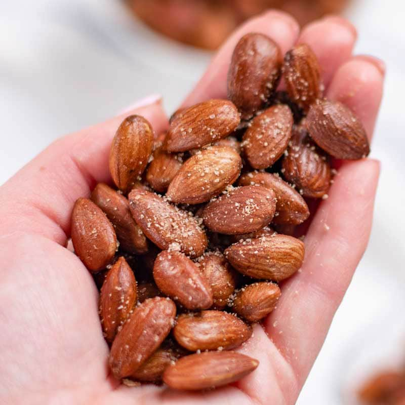 How to make Low Carb Roasted Almonds