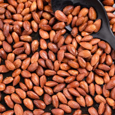 Low-Carb Baked Almonds Recipe – Roasted Smokey Flavor
