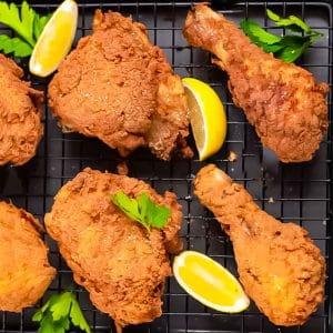 Keto Spicy Fried Chicken