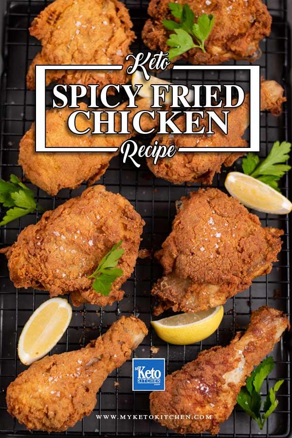 Keto Spicy Fried Chicken Recipe