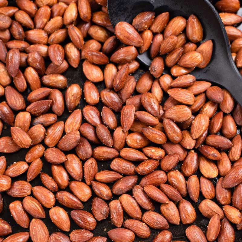 Low Carb Roasted Almonds