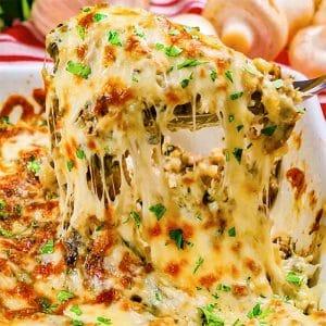 keto cheese ground beef casserole bake