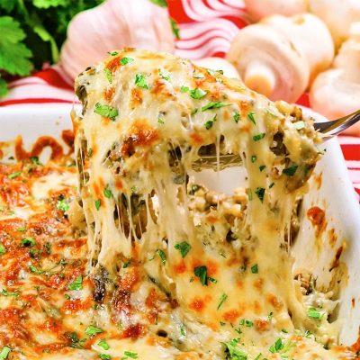 Keto Cheesy Ground Beef Casserole