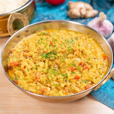 Keto Cauliflower Dal Recipe