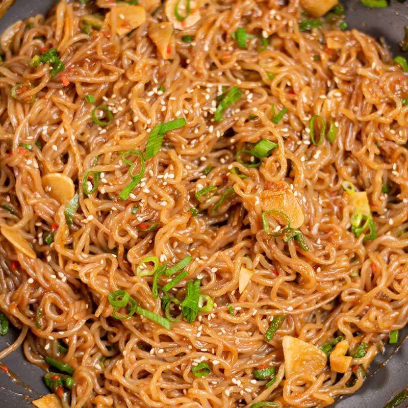 Keto Spicy Noodles