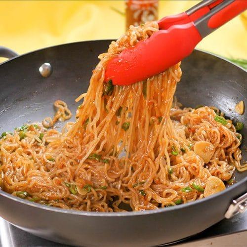keto spicy noodle recipe