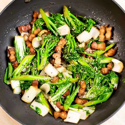 Pork Belly Stir Fry Recipe