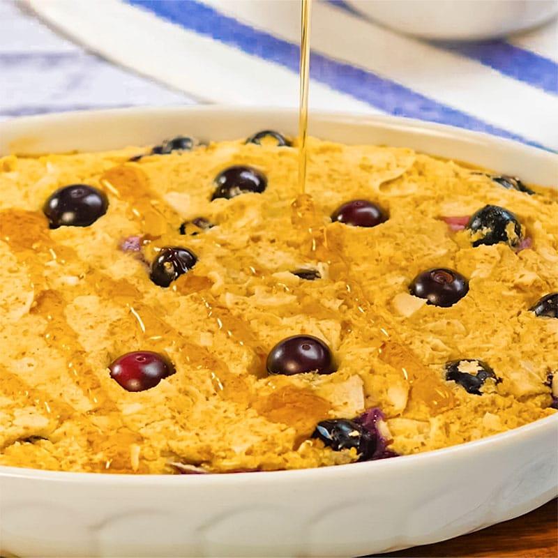 keto baked oatmeal