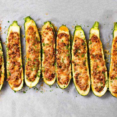 Keto Zucchini Boats Recipe