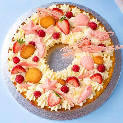 Low Carb Cookie Cake Recipe