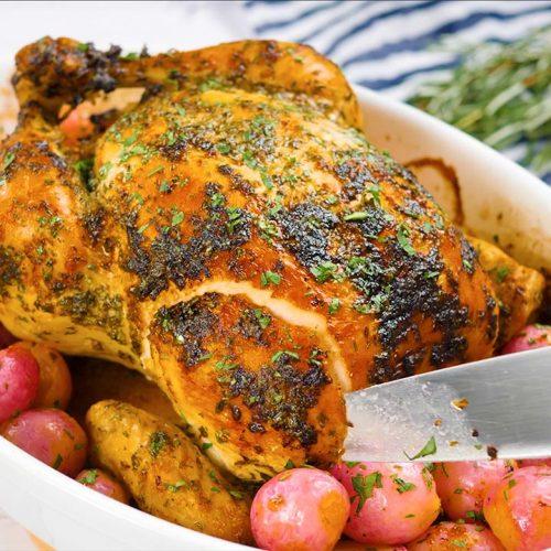 tender brined chicken