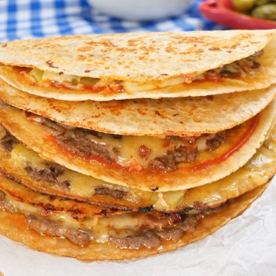 Keto Quesadillas Recipe – Delicious Cheese & Beef Burger Filling