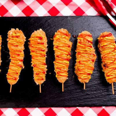 Keto Corn Dogs Recipe with Melty Cheese – Korean Style
