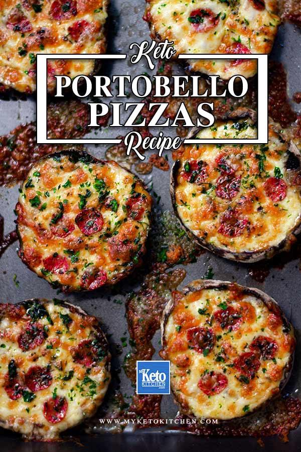 Pizza Stuff Mushrooms Homemade