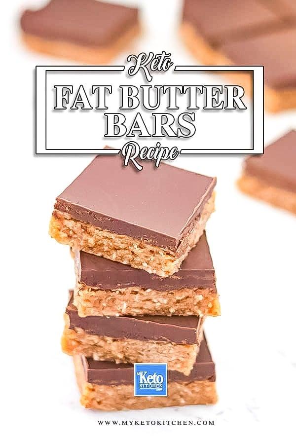 Keto Almond Butter Snack Bars No Bake