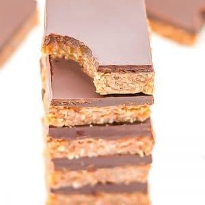 Keto Almond Butter Snack Bars Recipe
