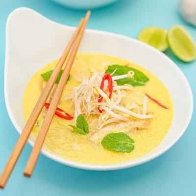 Chicken Laksa Recipe – Keto Style!
