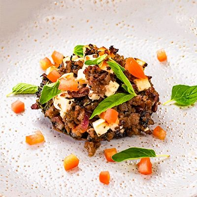 Greek Stuffed Mushrooms – Feta, Beef & Olive