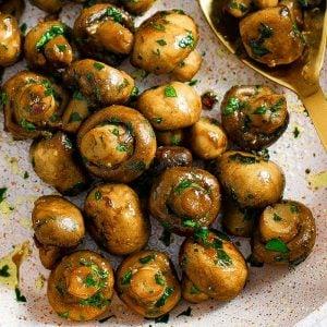 Garlic Butter Mushroms